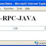 Implemention RPC using java