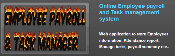 Employee Payroll And Task Management System