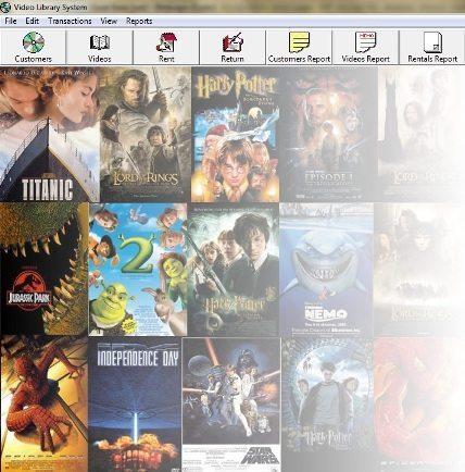 Video CD Library Management System
