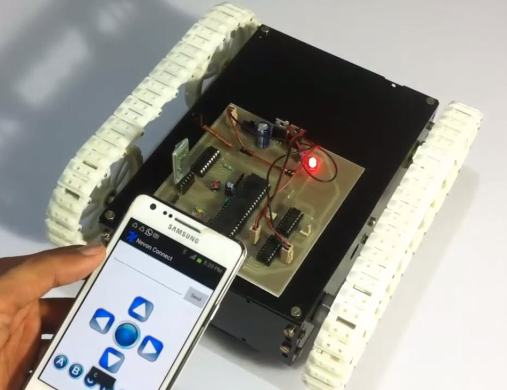 Android-Controlled-Automobile