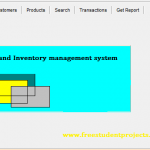Sales Inventory Management System